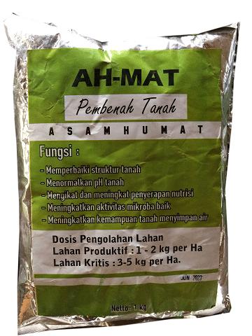 cara menggunakan asam humat